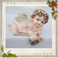 China Resin Angel Figurines/statues on sale