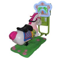 Quality High Profit Coin Operated Carousel Horse , 3d Coin Operated Rocking Horse With 17 Games for sale
