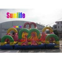 Quality hot sell inflatable giant slide combo for sale