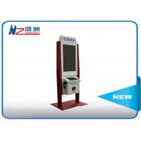 Quality 32 inch self service payment kiosk with RFID card reader and bill acceptor for sale