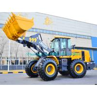 China Hydraulic pilot control Heavy Load XCMG LW500FV 5 Ton wheel loader with 3m3 bucket with Shangchai Engine for earthmoving on sale