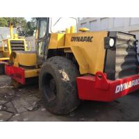 China Ca30d Used Dynapac Road Roller , Sweden Used Single Drum Roller Compactors on sale