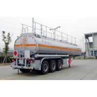 Quality 42000L-3 Axles-Carbon Steel Tanker Semi-Trailer for gasline and cyclopentane for sale