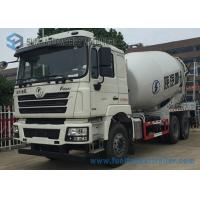 China White Concrete Mixing Transport Truck 8 Cubic Meter SHACKMAN 6X4 Truck on sale