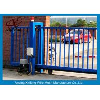 Quality Various Size Residential Sliding Gates , Industrial Sliding Gates Safety for sale