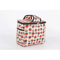 Buy cheap Polyester Thermal Ice Cooler Bags for Drinks , Large Food Cool Bags Picinc from Wholesalers