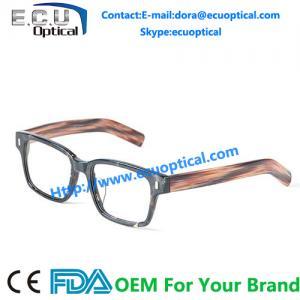 China 2014 new eyewear optical frame reading glasses spectacles frame brand name eyeglasses OK Fat Cat Pencil wood on sale