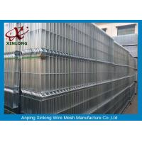 Quality High Resistance Welded Wire Mesh Fence Panel Anti - Corrosion ISO Approved for sale