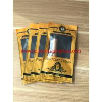 Quality European And American Cigar Moisturizing Plastic Zipper Bags With Humidified System for sale