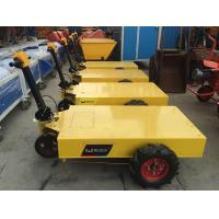 Quality electric trolley pallet with battery mobile construction tool trolley 600kg load capacity for sale