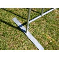 Quality Non Permanent Fence Galvanized Temporary Fence For Construction AS4687-2007 for sale