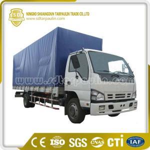 China Good Flexibility Tear Resistant PVC Tarpaulin Truck Cover on sale