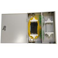 Buy cheap CGP(05)A-24 FTTH Steel Fiber Optic Distribution Box Size 455x405x80mm from wholesalers