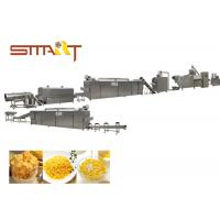 Quality Instant Corn Flakes Production Line / Breakfast Cereal Machine 100kg/Hr for sale