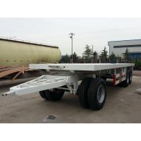 Quality 27 Feet-3 Axles-Draw Bar Flat Bed Trailer for sale