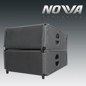 """China 60Hz Pro Audio 1000W Line Array Speaker With 2x10+2x8""""+2x3"""" Neodymium Transducers For Church on sale"""
