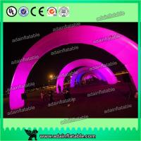 Quality White Inflatable Arch With LED Light , Event Inflatable Archway for sale