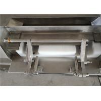 Quality Frozen Meat Grinder Machine , Double Belt Industrial Meat And Bone Grinder for sale
