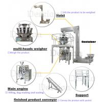 Buy Prawn Chips Packaging Machine with Multi Heads Auto Weighing at wholesale prices