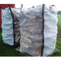 Quality Custom Ventilated Bulk Bags , PP Woven Bag for Packing Firewood for sale