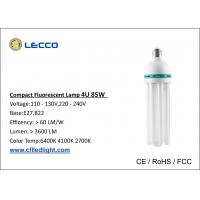 4u 85w Energy Saving Fluorescent Bulbs High Efficiency Light Bulbs T5 6400k Of Cflledlight