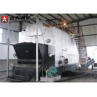 Buy cheap Automatic 4000Kg Rice Husk Fired Steam Boiler , Solid Fuel Biomass Boiler from wholesalers