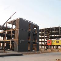 Buy Q345 Factory Construction Frame Prefabricated Steel Structure Luxurious Prefab Villa at wholesale prices