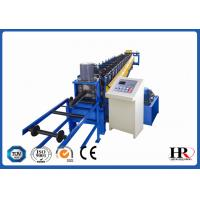 Quality Structural Steel Lip Channel / Purlin Roll Forming Machine Automatic Easy Operation for sale