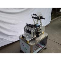 HG semi automatic manual label applicator pouch round cans label printing machine for sale