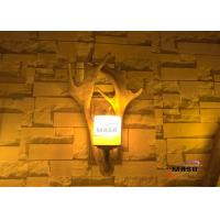 Buy cheap Maso Antler Wall Lamp Retro Vintage American Market Hot Sale Residential Hotel Bar Wall Lighting E14 Screw Lamp Base from Wholesalers