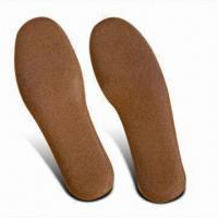 Quality Cork Shoe Insoles Made from Natural Cork, for Athletic and Casual Shoes and Boots for sale
