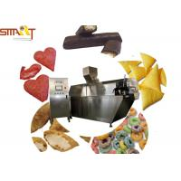 Quality PLC Controlled Snack Food Extruder Machine , Puffed Food Extruder Easy To Use for sale