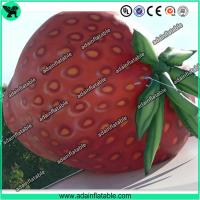 Quality Event Inflatable Fruits Model/Inflatable Strawberry Replica for sale