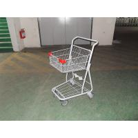 Amercian Grocery singel basket Shopping Trolley carts 40Lwith 5 inch casters