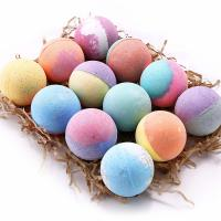 Quality Cool Bubble Bath Bombs With Natural Plant Extracts / Bomb Bath Fizzers for sale