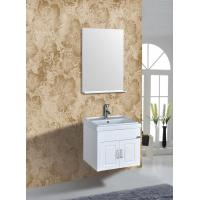 Square Bathroom Sink With Cabinet : Quality PVC Vanity Cabinets Modern Square Bathroom Cabinet Sink Mirror ...