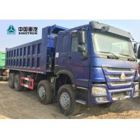 Buy Euro 2 371HP Heavy Load Truck 8x4 12 Tyre Front Lifting HOWO Tipper Truck at wholesale prices