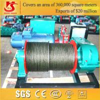 Quality High Strength Wirerope Electric Construction Winch for sale