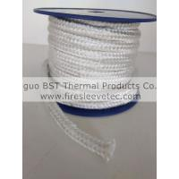 Quality Texturized fiberglass braided round rope for sale