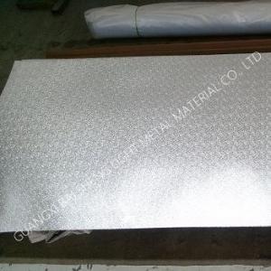 Quality Decoration Aluminium embossed Anti Skid AA1100/3003/5052 Heavy Gauge for sale