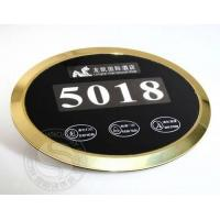 Quality Hot selling luxury hotel touch doorplate displayer for sale