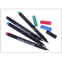 Quality Colorful Wet Erase Pen for Temporary Marking on Plastic Easily Wiped Off by Wet Fabric for sale