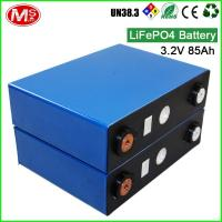 Buy cheap Rechargeable 3.2V 85Ah Li-ion EV Battery Lithium Iron Phosphate Battery LiFePO4 from wholesalers