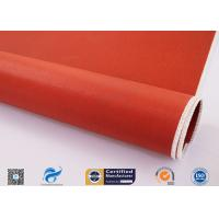 China Durable Thin Fiberglass Cloth 30 Oz With Silicone Rubber Coating On Two Sides on sale