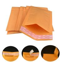 Buy cheap Strong seams and Self sealing #0 6x10 Gold Kraft Air Bubble Mailers shipping envelopes from Wholesalers