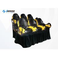Quality 6 Seats Motion Chair 7D Cinema Machine With Special Effects 2 Projector for sale
