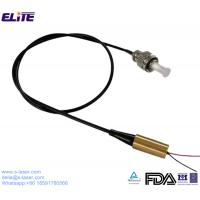Quality FDA Certified 445nm 1mw-300mw Low Power Coaxial Fiber Laser Module with 4um-200um Core Fiber and FC/ST/SMA Connector for sale