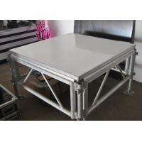 Quality Durable 4x4 Ft Aluminum Stage Platform 100-240 Voltage With LED Light for sale