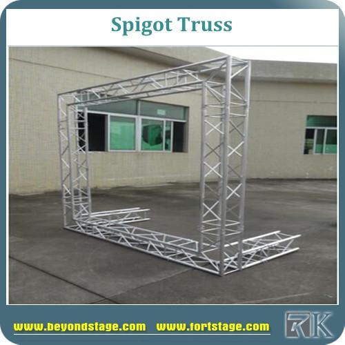 Aluminium spigot lighting truss stage truss roof truss for Cheap truss systems