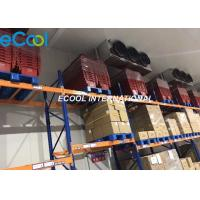 China PLC Control Cold Room Refrigeration / Cold Storage Warehouse +18C~-20C on sale